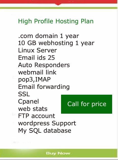 high profile hosting plan